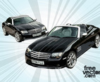 Car Vector - Chrysler Crossfire Cars