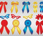 Glossy Ribbons Vectors