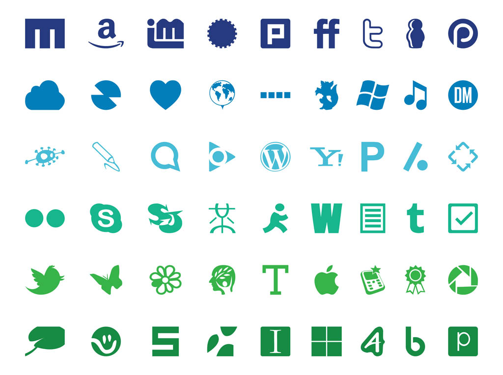 technology logos tech vector communication vectors icon sets graphics clipart freevector companies internet speech bubble icons library newdesignfile clip