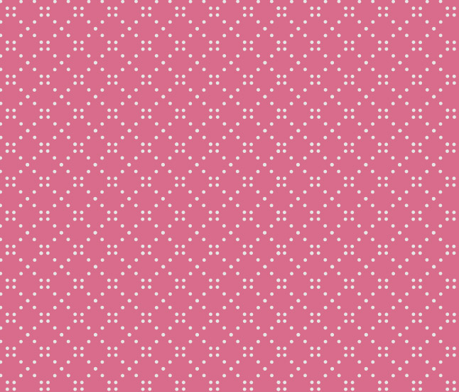 Pink Polka Dotted Vector Pattern