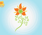 Stylized Flower Graphics