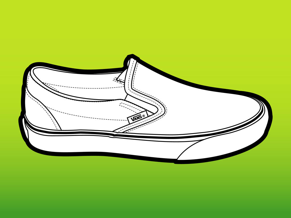 8ace3615219 Vans Shoe Vector Art   Graphics