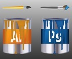 Adobe Paint Cans