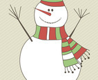 Snowman Vector Graphics