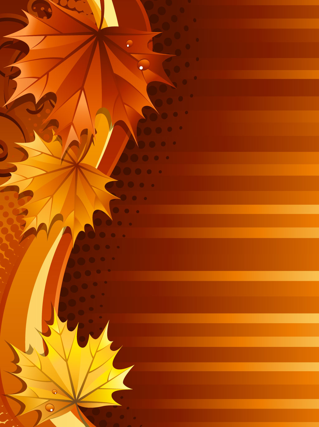 Autumn Leaf Background Vector Art & Graphics | freevector.com
