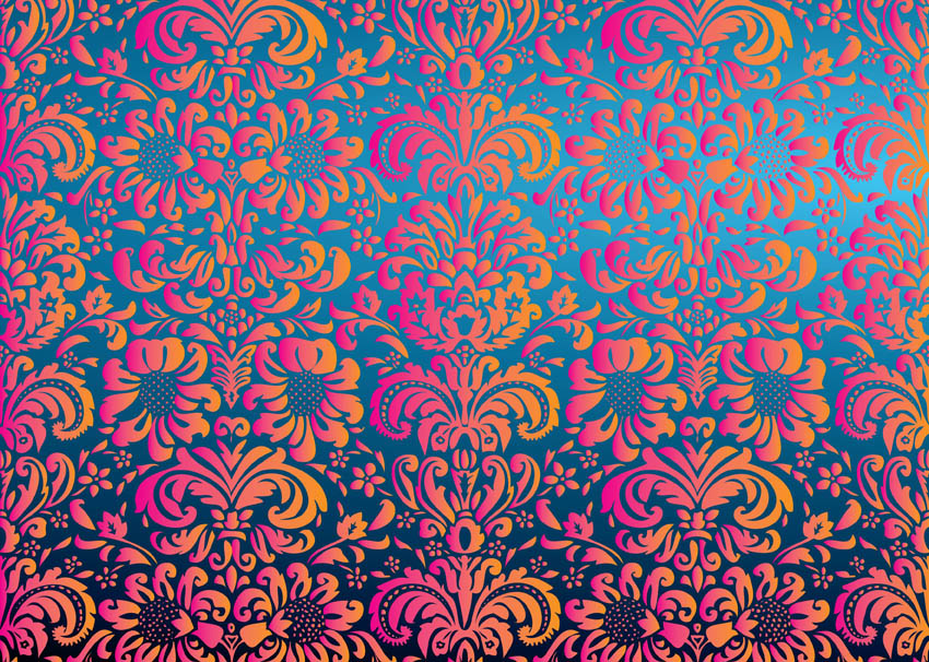 Free Floral Pattern Vector Vector Art Graphics Freevector Com