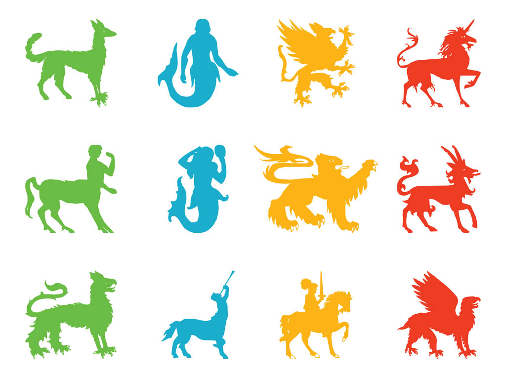 clip art mythical animals - photo #5