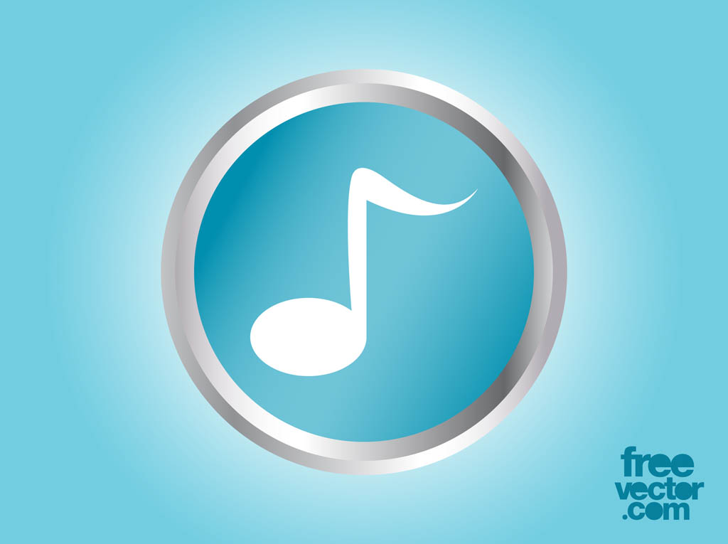 Vector Music Note Icon Vector Art & Graphics