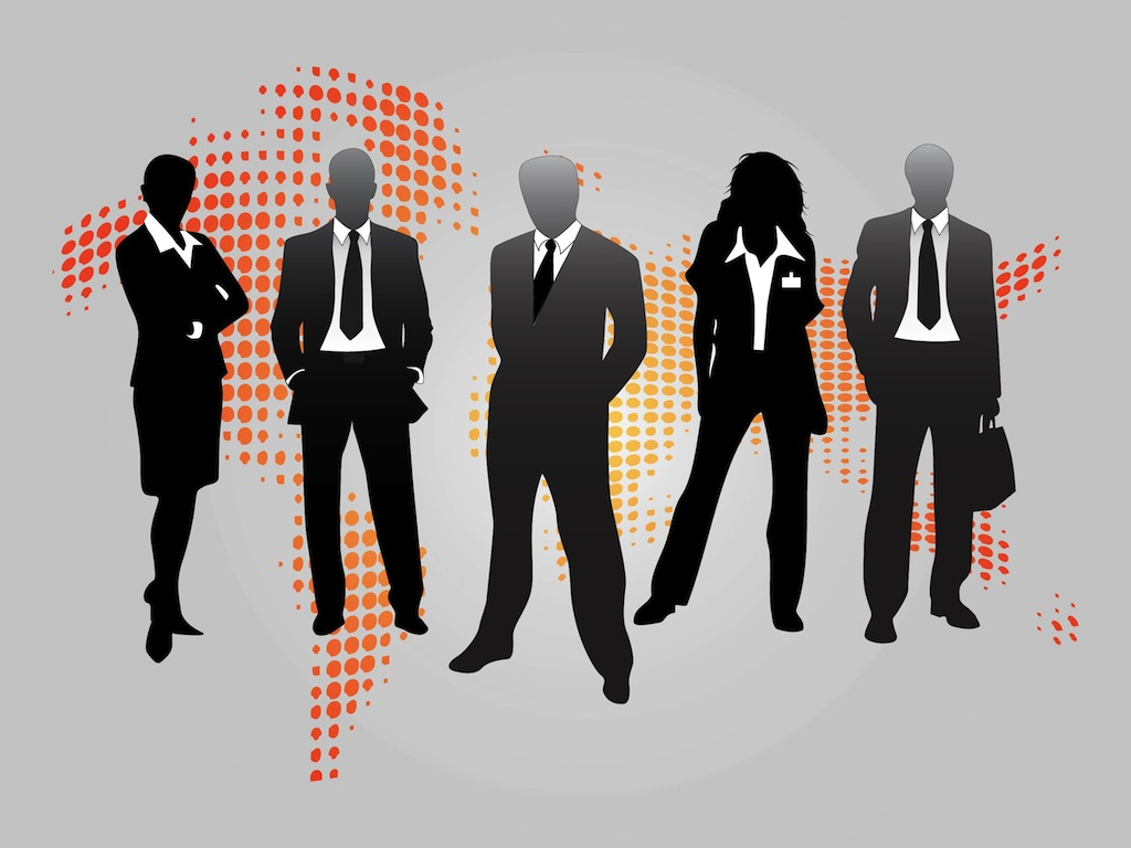 Business People Graphics Vector Art & Graphics ...