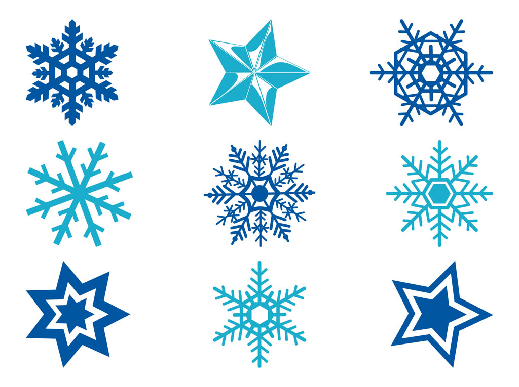 stars and snowflakes vector art graphics freevector com rh freevector com snowflake vector for laser cutting snowflake vector free