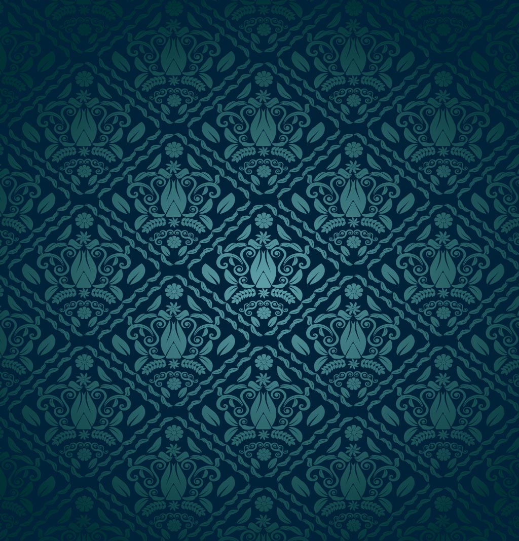 Blue and green pattern wallpaper - photo#24