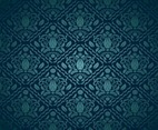 Blue Green Decorative Pattern
