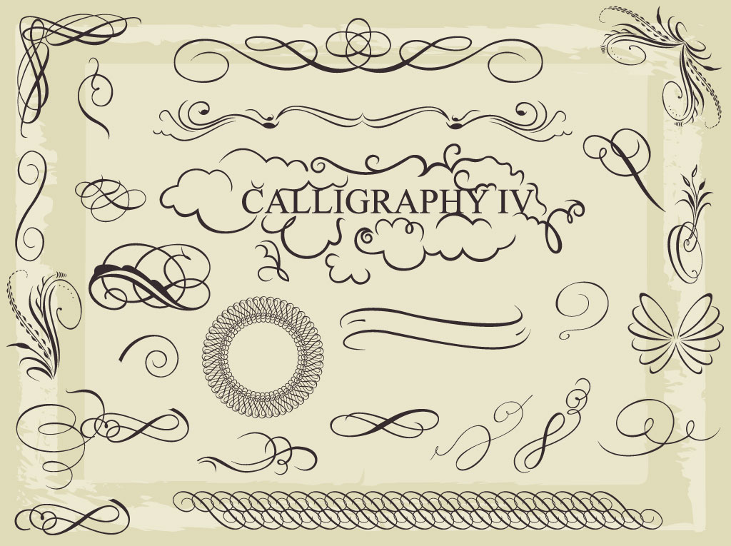 Clip Art Free Download Software Free Calligraphy Clip Art