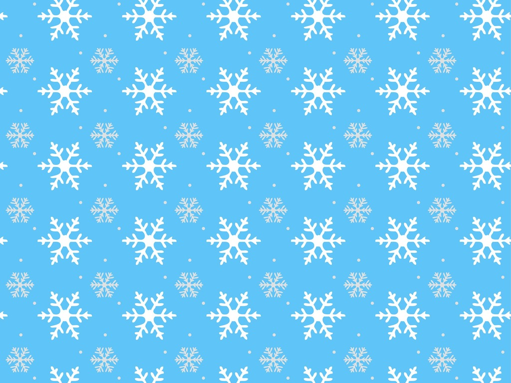 snow vector pattern-#3
