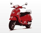 Vespa Scooter Vector