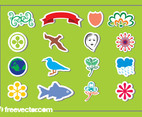 Sticker Graphics Set