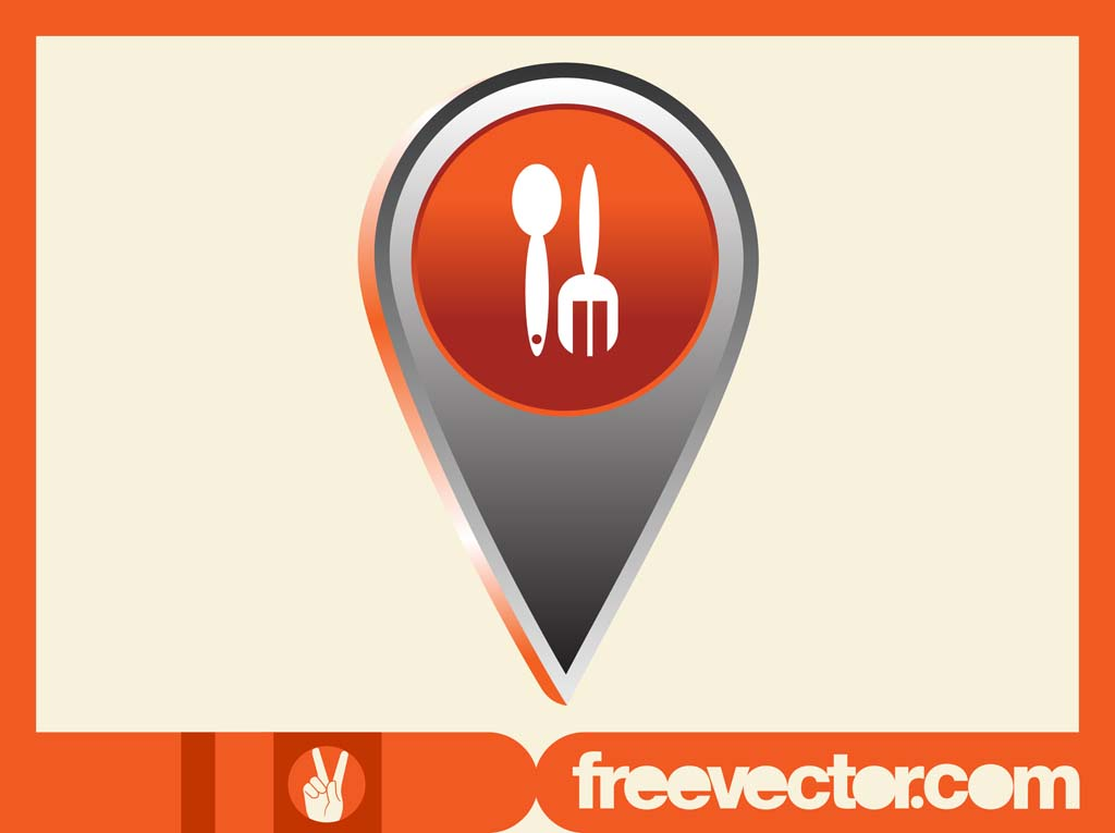 Food Pointer Icon