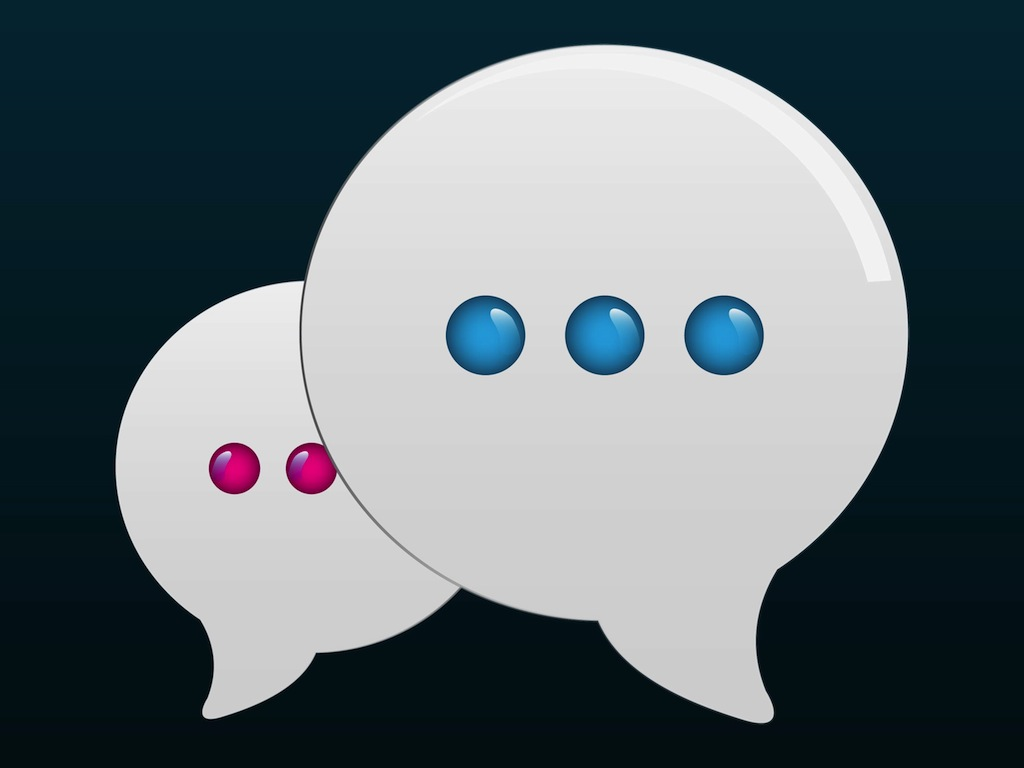 free rendom chat bubble