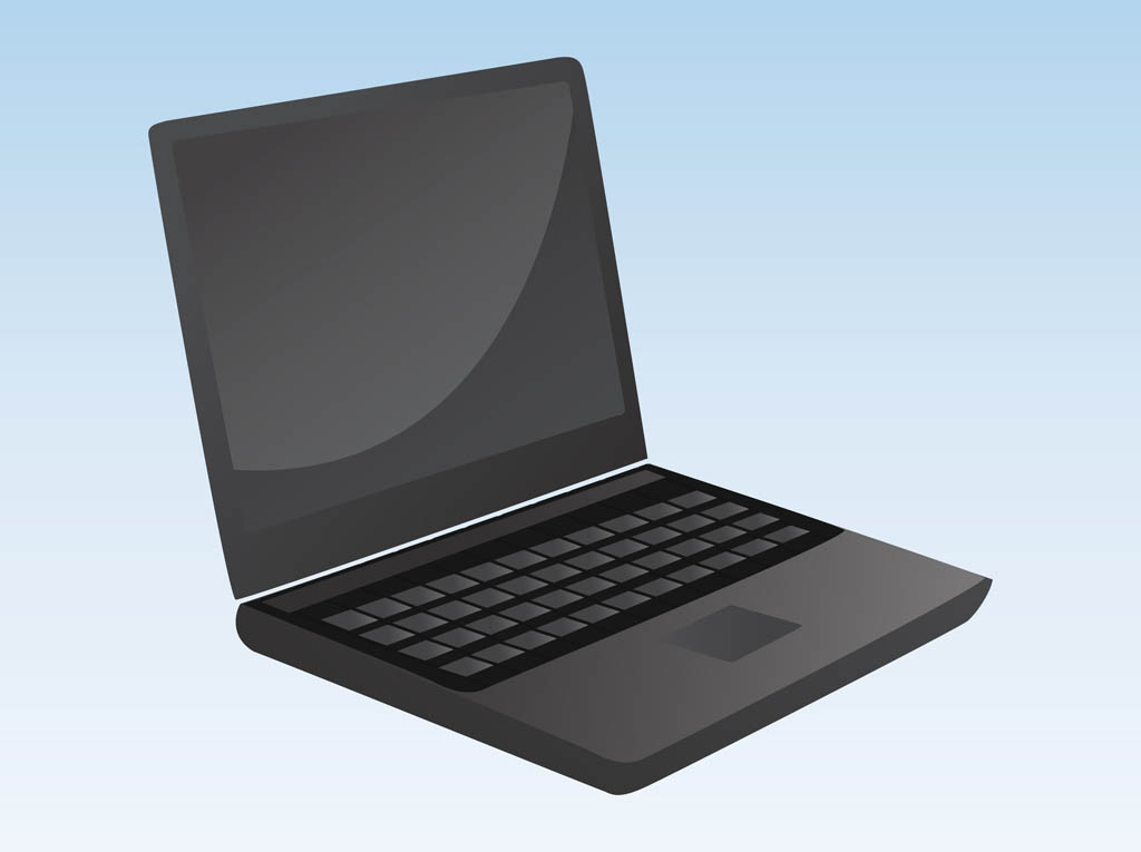 Black Laptop Graphics