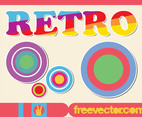 Colorful Retro Stickers