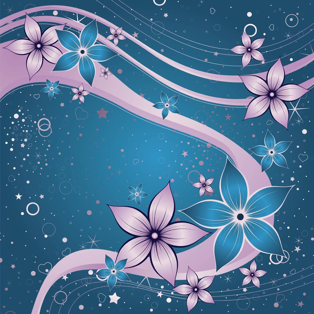 Flower Dream Vector