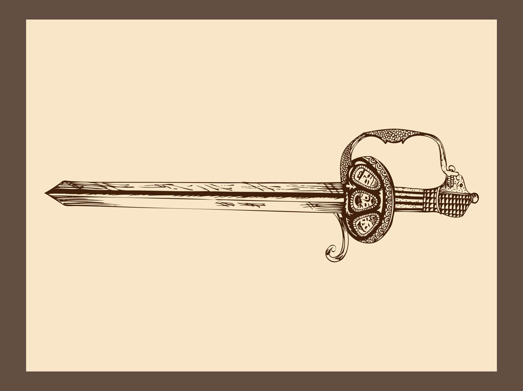 Antique Sword Graphics