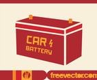 Automotive Battery Vector