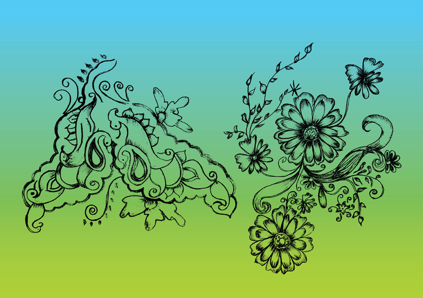 Nature Vector Drawing