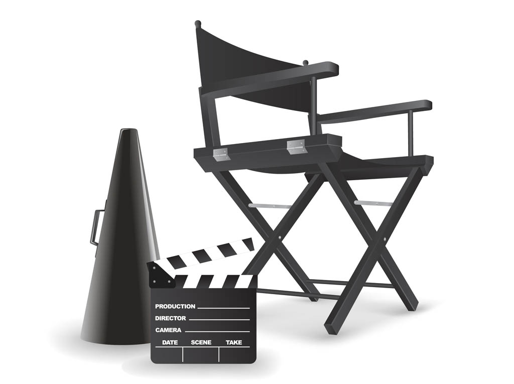 Director's Chair Vector Art & Graphics | freevector.com
