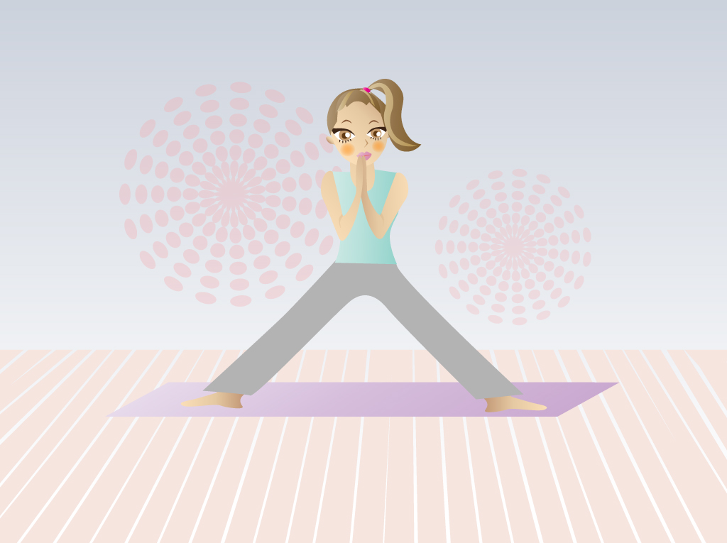 Funny Exercise Clip Art