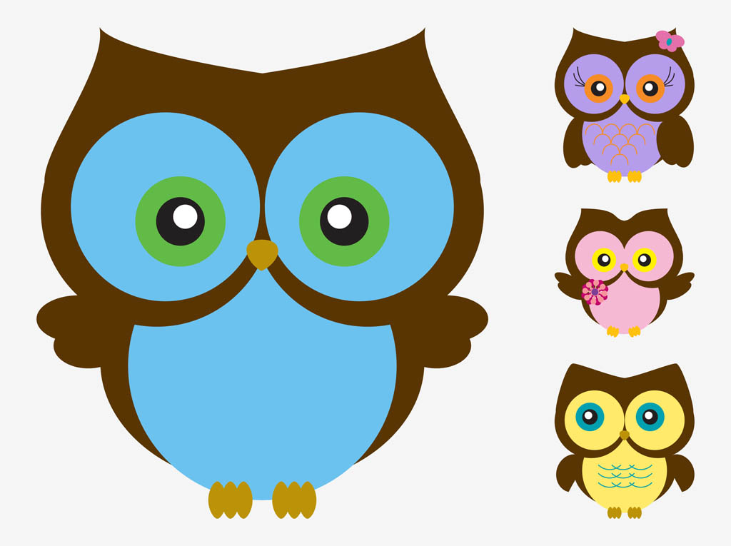 cartoon vector owls vector art graphics freevector com rh freevector com free owl vector download free owl vector file