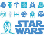 Star Wars Logo And Characters