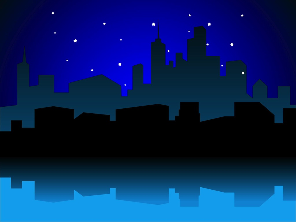 Urban Night Vector