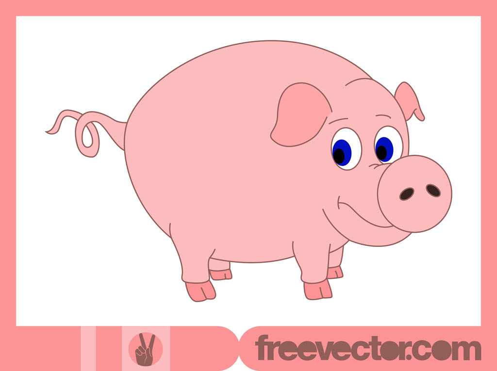 Famous pig cartoon characters - photo#24