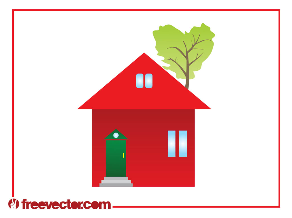 Eco House Clip Art