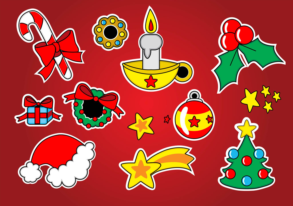 Christmas Vector Footage