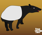 Cartoon Tapir Graphics