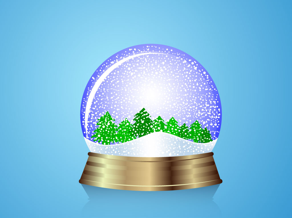 Snow Globe Forest