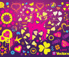 Cool Love Vectors
