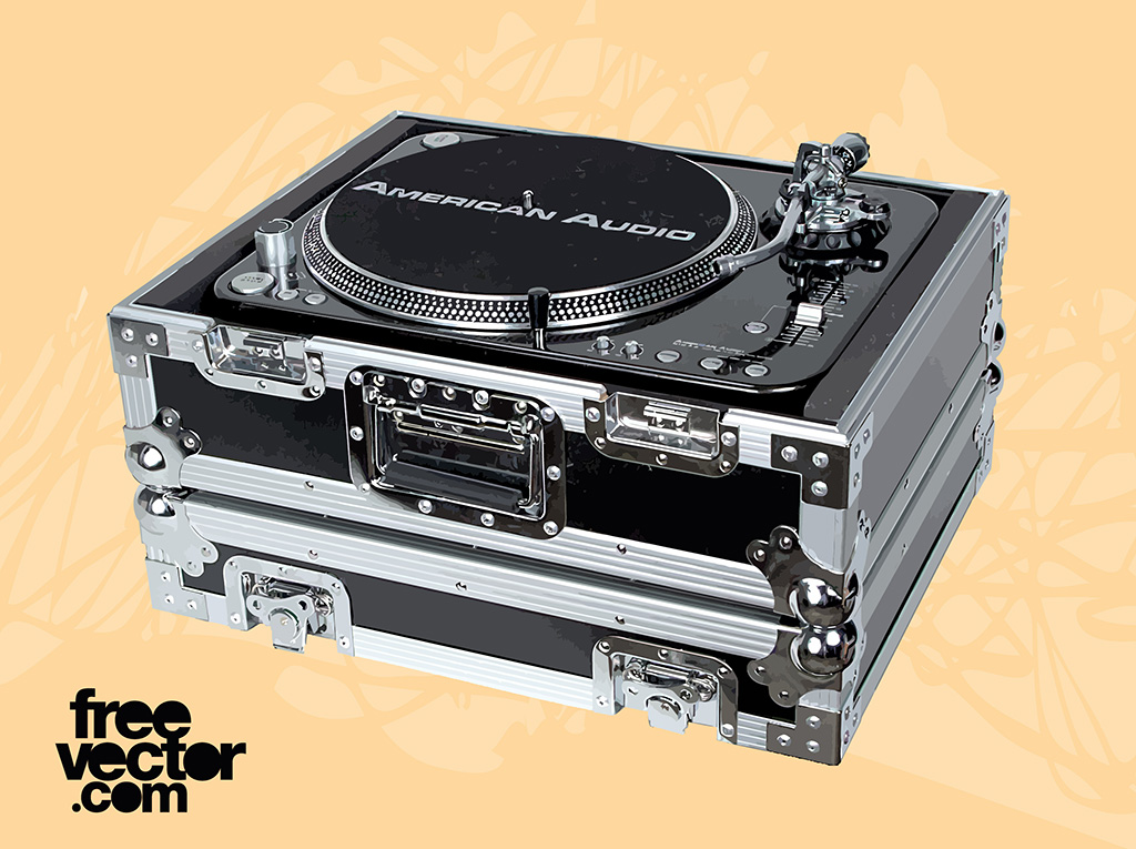DJ Equipment Vector