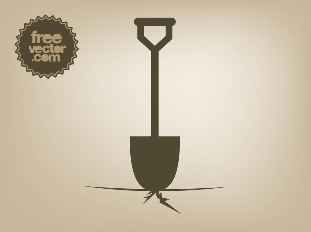 Shovel Vector