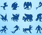 Mythological Creatures Graphics Set