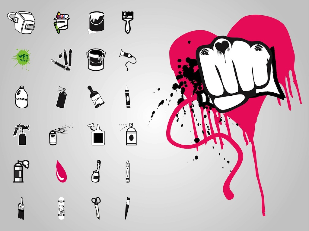 Graffiti Icons