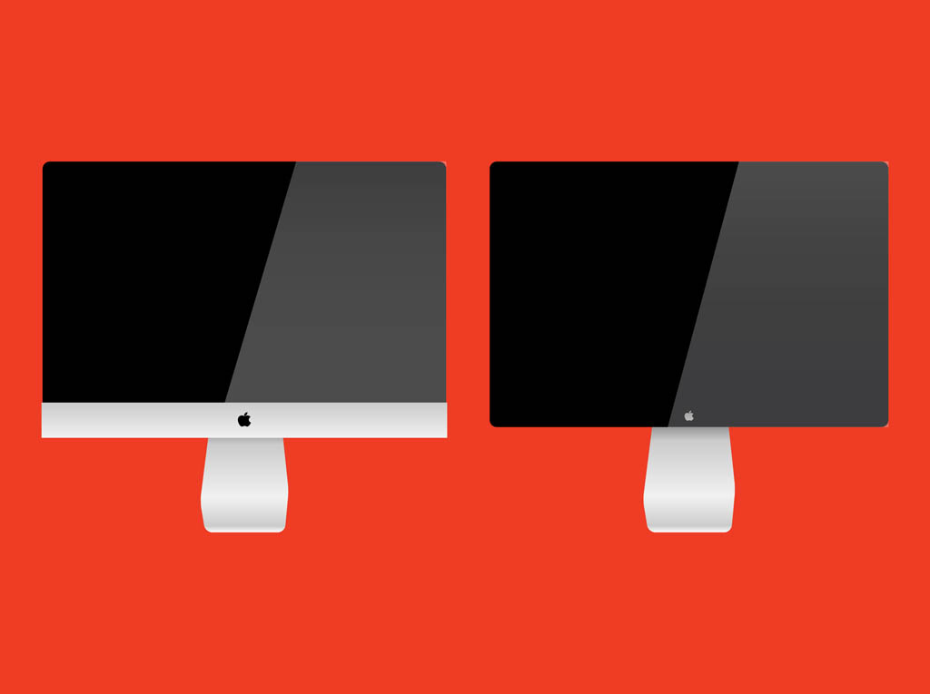 iMac Vector Graphics
