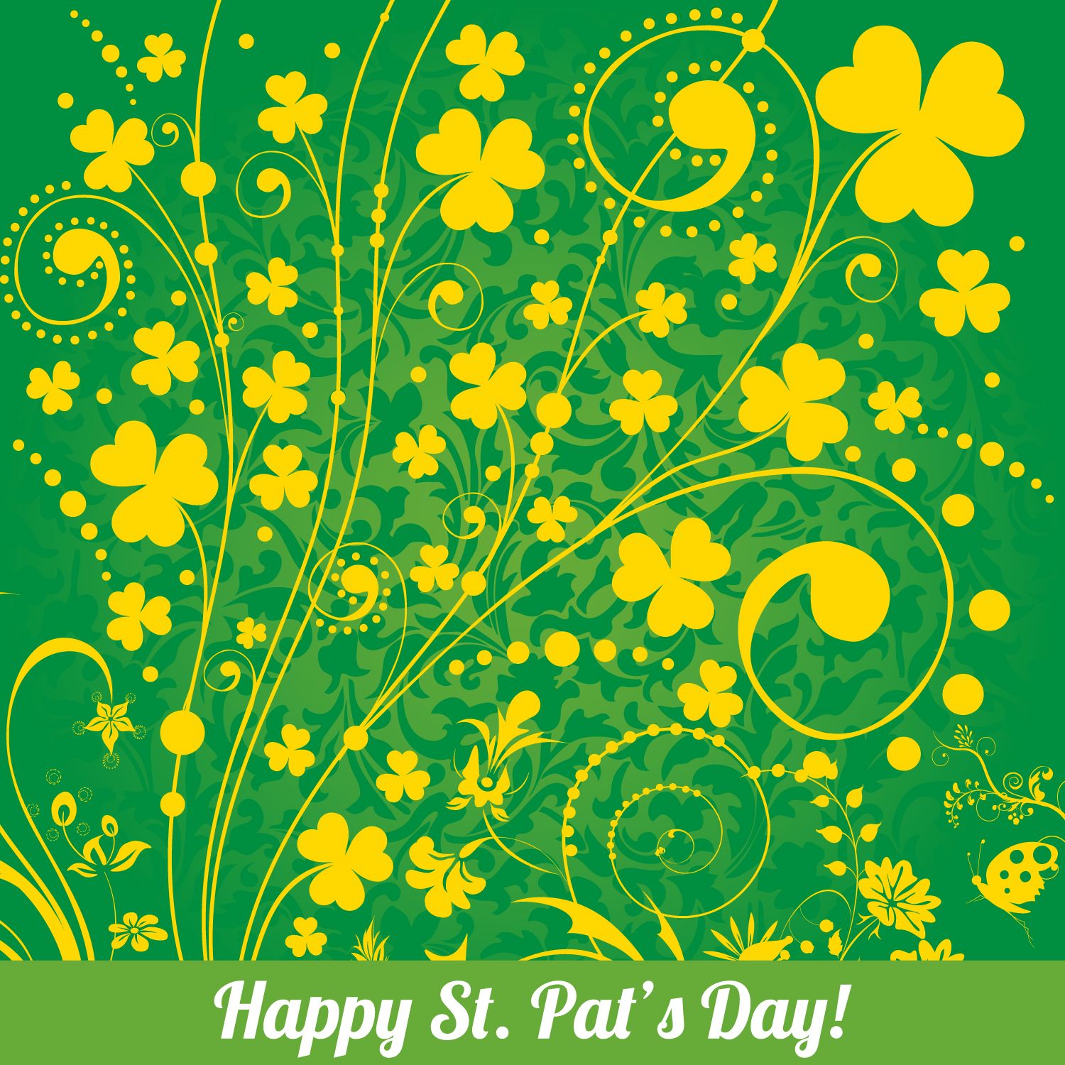 St. Patrick's Day Vector Background