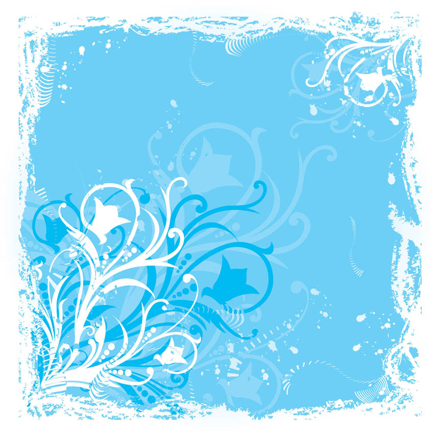 Blue Flower Graphics