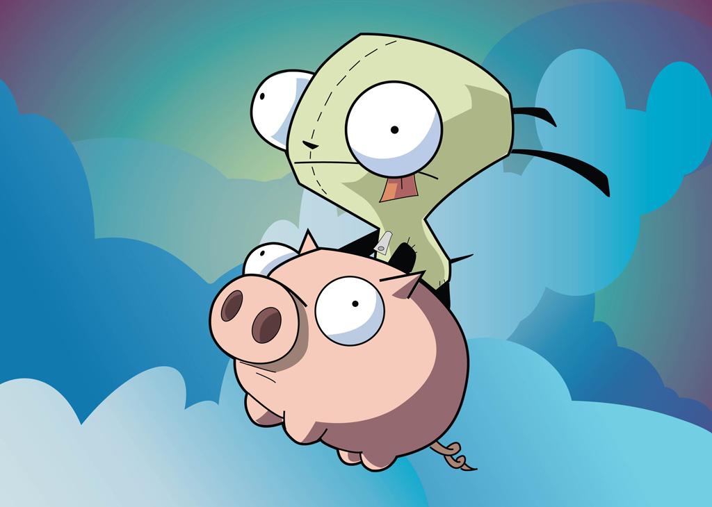 Invader Zim Cartoons
