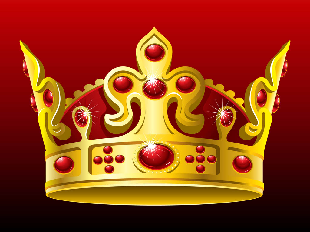 Gold crown background - photo#3