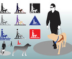 Guide Dog Vectors