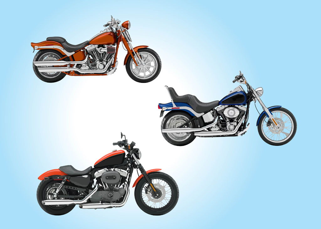 Motorcycles Vector Art & Graphics | freevector.com